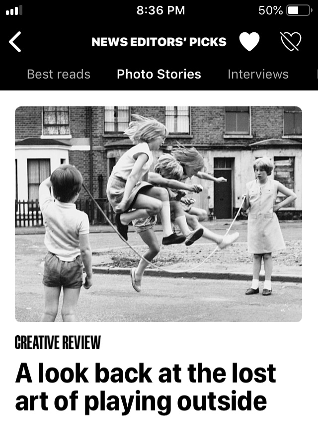 Creative Review in Apple News' Editors' Picks