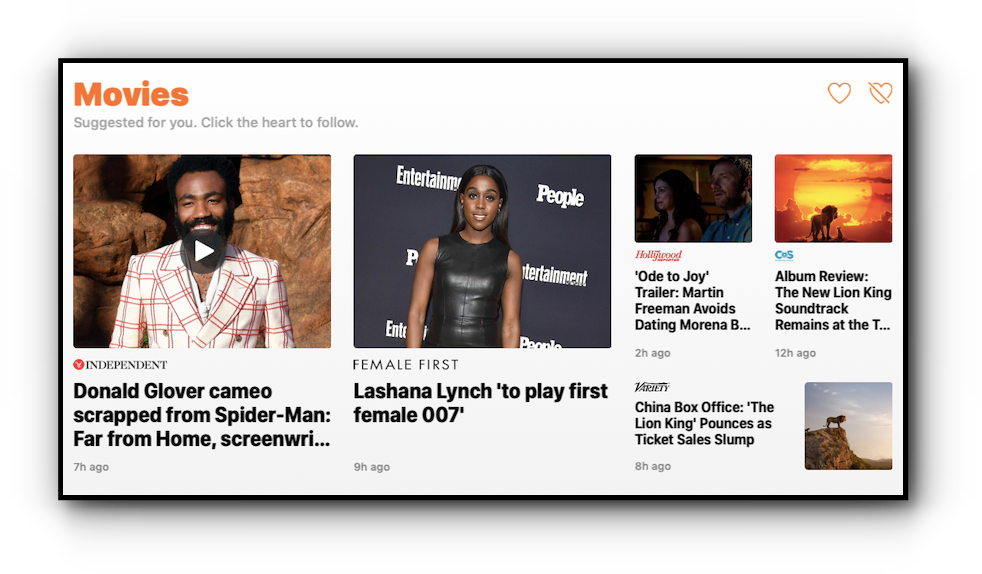 Small Logos in the Apple News Today Feed