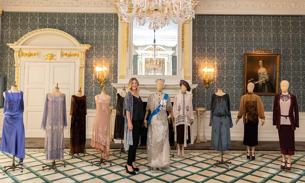 Downton Abbey fashion designer Anna Robbins
