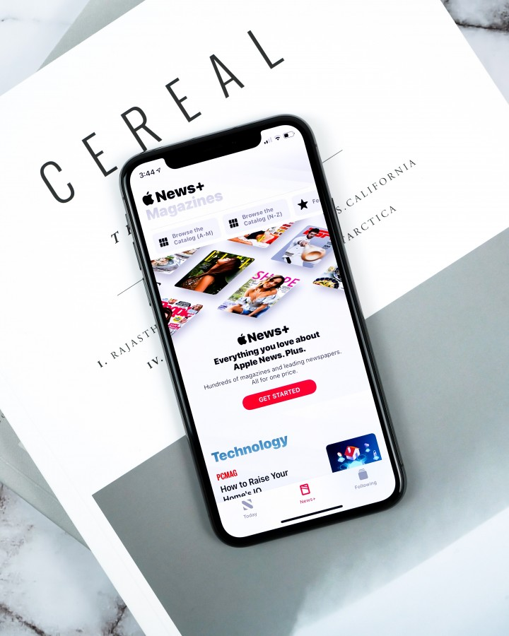 Apple News+ and Cereal Magazine